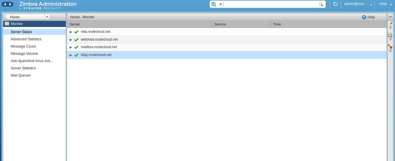 Install Zimbra Multi Server di CentOS 7 - Routecloud ...